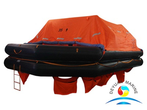 SOLAS Approved Throw Over Board Inflatable Life Raft