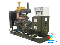120KW DEUTZ Marine Generator Set With BV Approval For Ship