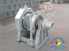 Hydraulic Single Gypsy One Drum Mooring Winch For Ship
