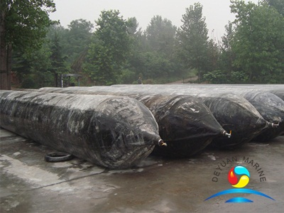 High Pressure Natural Rubber Marine Launching Airbags With Different Size