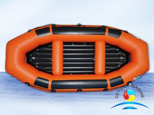 Durable Commercial Grade Blue PVC Inflatable River Boats For Fishing