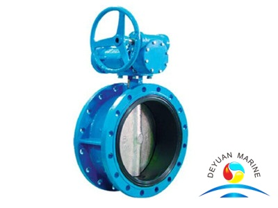 Butt-clamped Butterfly Valve