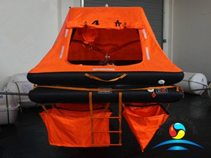 Marine Throw-overboard Self-righting Yacht Inflatable Life Raft