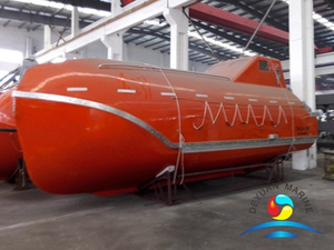 5.8M Tanker Version Flame-resistant Totally Enclosed Free Fall Lifeboat