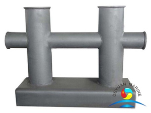 Marine Cast Iron Double Cross Dock Mooring Bollard CB/T554-96 Standard