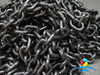 G80 Alloy Steel Welded Lifting Chain Black Painted