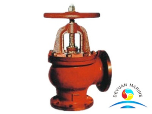 JIS Marine Cast Iron Flanged Angle Stop Valves