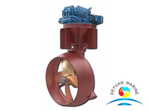 Low Noise and Vibration Accurate Remote Control Marine Azimuth Thruster