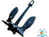 Good Price Offshore ZG200 Black Paint Mooring U.S.Navy Anchor for sales