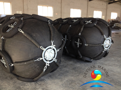 Yokohama Type Pneumatic Rubber Fenders with Strong Energy Absorption