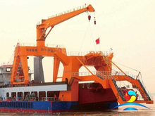 40T Hydraulic Shipboard Gantry Crane for Deepwater Pipelay Vessel