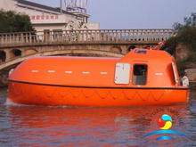 150 Persons F.R.P Marine Totally Enclosed Lifeboat With SOLAS Approved
