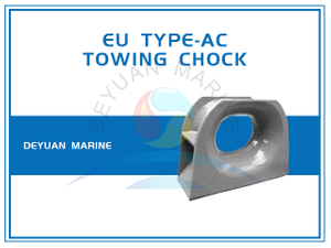 Deck Mounting EU Type Panama Bow Chock for Towing