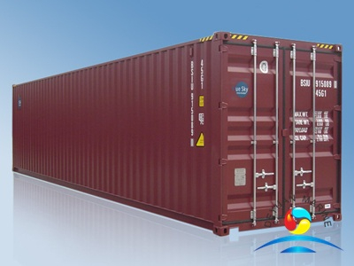 40ft HC ISO Dry Cargo Container