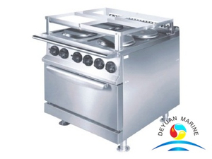 Marine Cooking Range W/Oven(square hot plate)