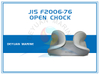 Deck Mounted SC Type JIS F2006-76 Open Chocks Cast Steel
