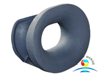 Marine Mooring Double Bulwark Mounted Chock DIN 81915 A Type
