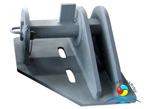 Marine Use Cast Steel Deck Mounted Smith Towing Bracket