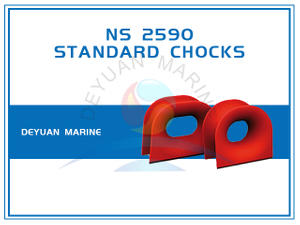 Deck Mounted NS2590 Panama Mooring Chock for Ships