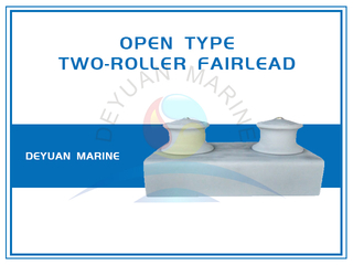 JIS F2014 Open Type Fairlead Roller In Group Two Roller