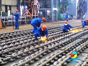 Commercial Quality Offshore Mooring Chain Manufacture Process