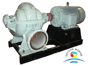CWS Series Marine Double Suction Self Priming Horizontal Centrifugal Pump