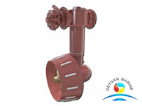 Shallow Water Operated Remote Control Azimuthing Swing-up Thruster