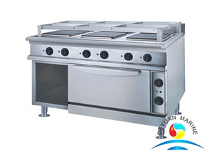 Marine Cooking Range W/Oven(round hot plate)