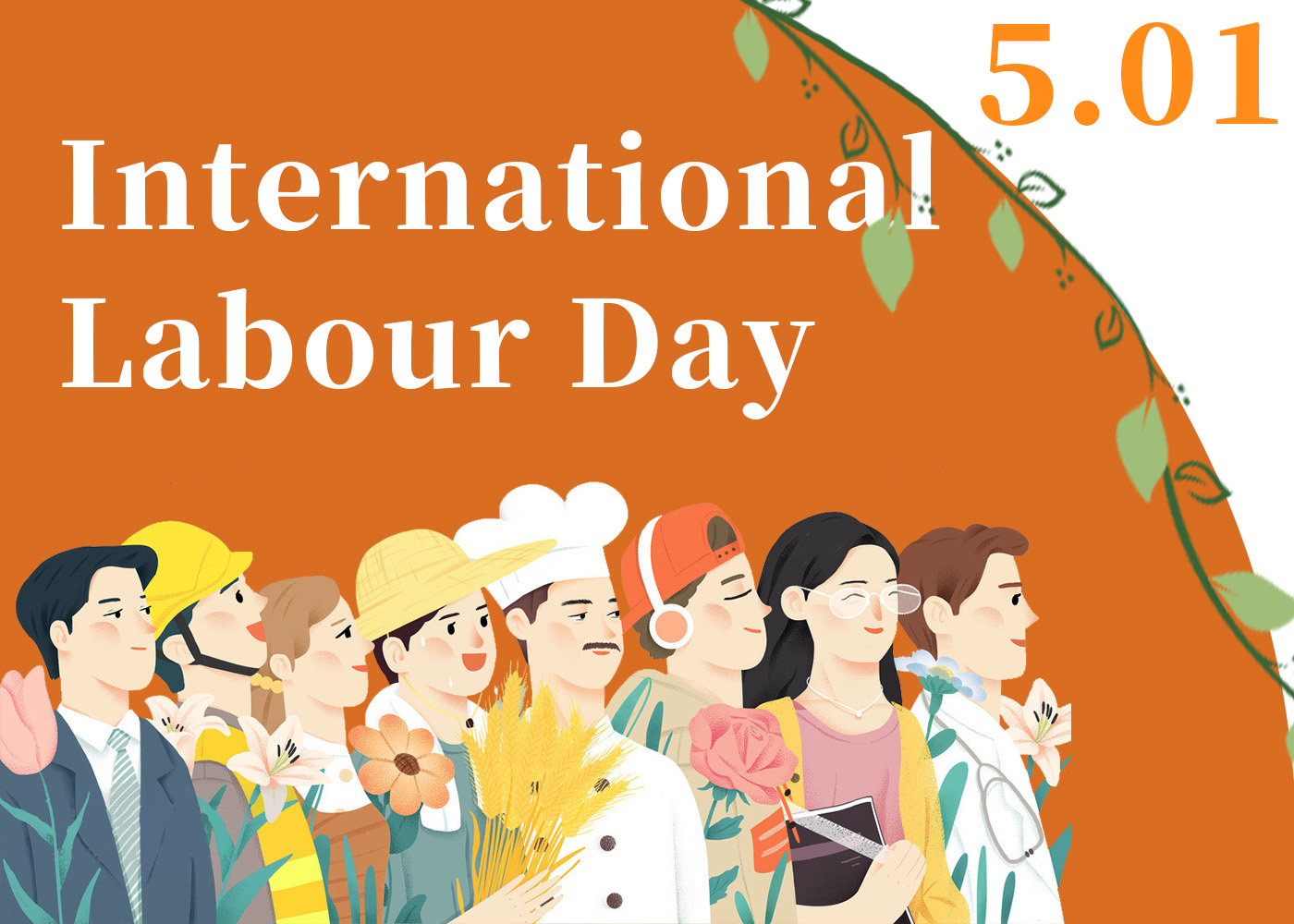 DEYUAN MARINE Holiday Notice For May International Labour Day