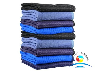 Poly Blend Fabric Standard Moving Pads With Different Color
