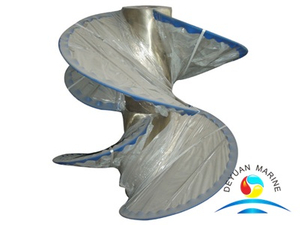 Marine 3 Blade Big Developed Area Ratio Propeller For Vessel