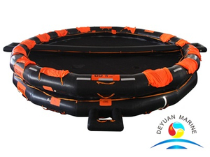 CCS Approved Open Type Reversible Inflatable Life Raft For 50 Persons