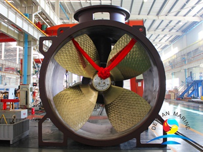 Marine Electric or Hydraulic Controllable Pitch Tunnel Thruster