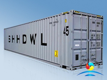 45' Pallet Wide Container