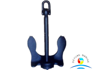 Steel ZG200-400 Baldt Anchor Stockless Anchor for Ship Anchorage and Vessel Docking