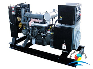 CCS Approved Marine Genset With Deutz Diesel Engine For Ship