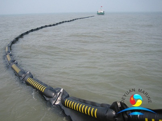 Inflatable Rubber Oil Boom