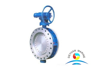 Double-eccentric Center Butterfly Valve