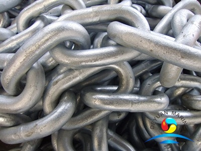 Cast Steel Marine Studless Mooring Anchor Chain with ABS certificate