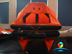 YSR Type 8 Man Throw-overboard Self-righting Inflatable Liferaft