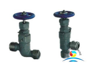China Marine Forged Steel Male Thread Stop Valves