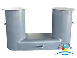 NS2584 Marine Bollard Casting Steel Double Bitts with Competitive Price