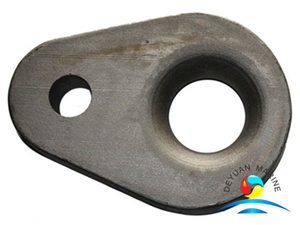 Marine Use Hardware Steel Two-hole Triangle Plate for Sales