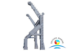 Marine Electric Hydraulic Inverted Arm Gravity Offshore Davit For Lifeboats