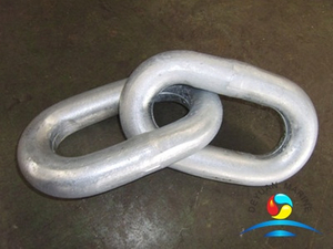 Galvanized U2 Grade Marine Studless Anchor Chain with ABS