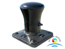 Ship Mooring Marine Single Bitt Bollard With Different Capacity