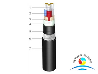 1.8/3kV XLPE Insulated Shipboard Power Cable