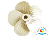 Good Quality Marine 5 Blade Big Develop Area Ratio Propeller