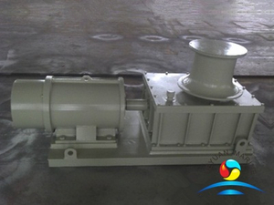 Marine Hydraulic Vertical Single Mooring Drum Capstan For Ship