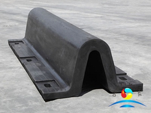 Marine Ship Solid U Type Rubber Fender For Dock Protection